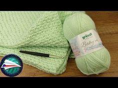 Baby Blanket 👶 Easy and Fast Crochet - Stricken Crochet Hook Set, Baby Blanket Crochet, Crochet Baby, Fast Crochet, Patterned Vinyl, Crochet Instructions, Vinyl Sheets, Crochet For Beginners, Beginner Crochet