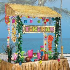 Tiki Bar Hutte Hawaii