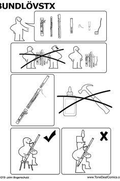 Bassoon illustration