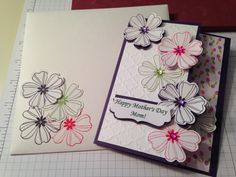 Mothers' Day card for my amazing Mother In Law.  Made using Stampin Up products.