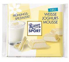 Ritter Sport Weisse Joghurt-Mousse 100 g