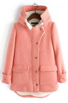 Hat Collar Wool Coats Outerwear