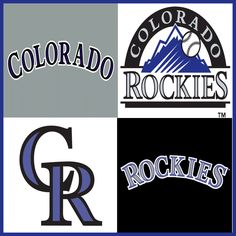 Colorado Rockies Mlb Team Logos, Mlb Teams, Sports Teams, Nebraska, Oklahoma, Wisconsin, Michigan, Rockies Baseball, American Sports