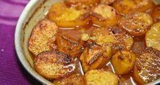 Γλυκές πατάτες φούρνου που λιώνουν στο στόμα και δεν ξέρουμε πως αλλιώς να τις περιγράψουμε αφού έτσ... Cookbook Recipes, Baking Recipes, Vegan Recipes, Greek Cooking, Fun Cooking, Bbq Menu, Mediterranean Recipes, Greek Recipes, Side Dishes