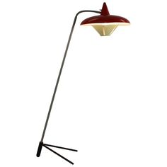 Floor Lamp by Busquet for Hala Holland | From a unique collection of antique and modern floor lamps at https://www.1stdibs.com/furniture/lighting/floor-lamps/