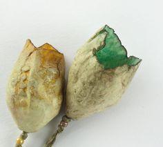 Artisan Ceramic Porcelain Beads Pods by greybirdstudio on Etsy, £32.00