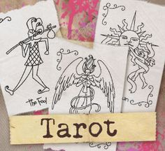 #myfavoriteembroidery Tarot (Design Pack)   Urban Threads: Unique and Awesome Embroidery Designs