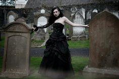 Toxic Tears: Throw Back Photo Dump: Gothic Graveyard Shoot