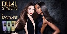 Love your hair, love your style with L'Oreal Professionnel DUAL STYLERS!
