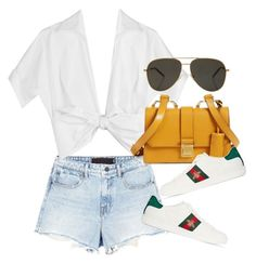 Untitled #4144 by lily-tubman on Polyvore featuring polyvore, fashion, style, Michael Kors, Alexander Wang, Gucci, Miu Miu, Yves Saint Laurent and clothing