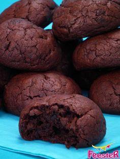 Gemaakt-goedgekeurd-suiker vervangen door kokosbloesemsuiker (125gram ipv 150) Brownie koekjes