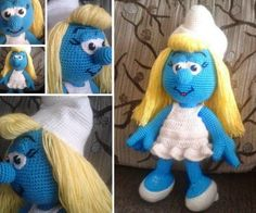Smurf Crochet Ideas Lots Of Free Patterns | The WHOot