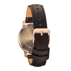 MVMT Women Watches   MVMT Watches Rose Gold/Black Leather $115.00