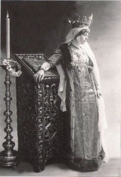 Queen Marie of Romania (1875-1938)  And can you believe it was her mother-in-law who was the family drama queen?