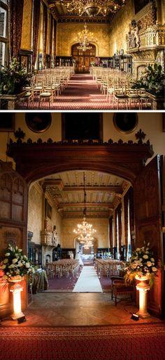 10 Grand Wedding Ceremony Rooms; Wedding Ceremony room at Carlton Towers