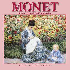 Monet 2013 Calendar 30211-13