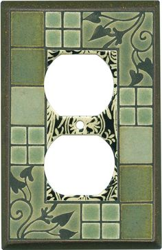 Arts and crafts switch plates outlet covers rocker for Arts and crafts outlet covers