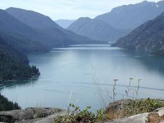Stehekin, Washington. A small community in the state of Washington that is only reachable by boat trek or hiking!