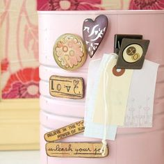 Kelly Rae Roberts Magnets Set - Includes Six Assorted