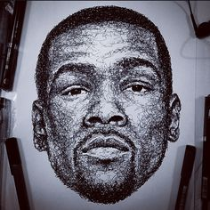 Kevin Durant by ScribbleZone