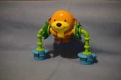Evenflo Exersaucer MEGA Toy part CIRCUS JUNGLE Switch a Roo Spinning MONKEY #Evenflo