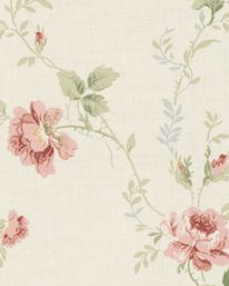 Tapet All-over floral 04 från Wallquest Eastern Accents, Luxury Bedding Collections, Cottage Style Homes, Ceiling Medallions, Linen Bedding, Bed Linens, Bedding Sets, Rose Design, Fabric Wallpaper