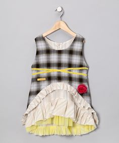 Yellow Beatrice Dress - Infant, Toddler & Girls