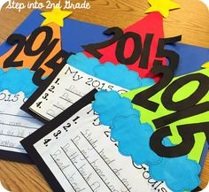 New Year's Resolutions/ Goals craft