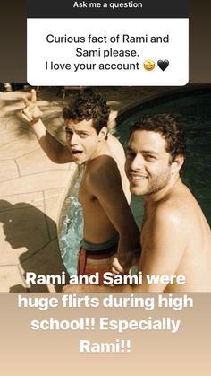 Sami Malek, Rami Said Malek, Siblings Goals, Curious Facts, Mr Robot, Man Crush Everyday, Falling In Love With Him, American Actors