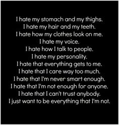 Today this is exactly how I feel... worthless