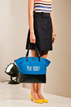 kate spade spring 2012 - love the bag and shoes (low heel!!!)
