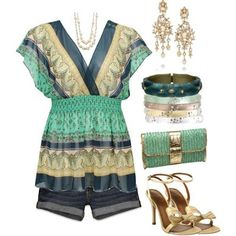 Summer Women Outfits 2013 Love this whole outfit... wouldn't wear the heels with it tho..