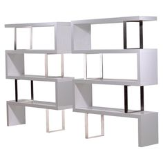 I pinned this Modloft Pearl Bookcase from the sfa design event at Joss and Main!