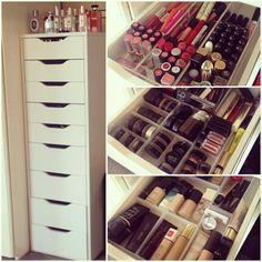 Make-up, perfume, jewellery and accessories storage....