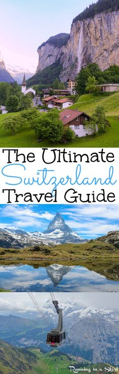 2 weeks in Switzerland - Travel Guide for Lucerne, Berner Oberland, Murren, Zermatt & Lausanne./ Running in a Skirt The Places Youll Go, Places To See, Four Corners Monument, Switzerland Travel Guide, Jungfraujoch, Zermatt, Lake Como, Future Travel, Lucerne