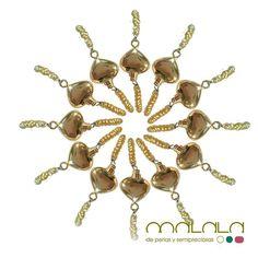 #pulseras de #perlas doradas y corazón  #bracelet #pearls #heart #accesorios #complementos #DiseñosPropios #especial #fashionblogger #handmadejewel #hechoamanoconamor #instamode #jewelry #joyas #joyasdediseño #joyasunicas #joyeriadeautor #ponteguapa #regalosconencanto #specialgift #natural #personalizado #piedrassemipreciosas #regalo