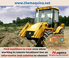 find #machines to rent, http://themaquina.net/