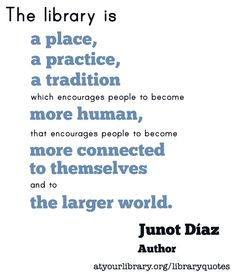 Congratulations to writer Junot Díaz on his MacArthur genius grant!    Listen to an interview with Díaz:  http://atyourlibrary.org/donna-seaman-interviews-junot-diaz