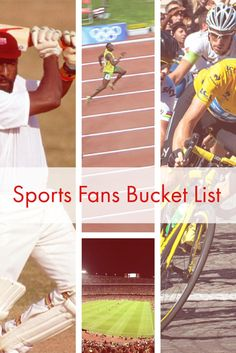 5 Must See Events for all sports fans to put on their bucket list.
