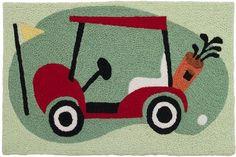 Golf Cart Rug