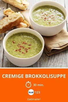 Cremige Brokkolisuppe - smarter - Kalorien: 123 Kcal - Zeit: 30 Min. | eatsmarter.de