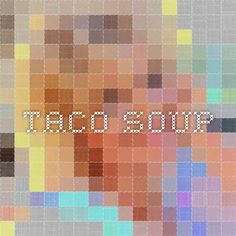 You'd think that a recipe for Taco Soup would be a southwestern original, right?So, the last place I expected to find a scrumptious Taco Soup recipe was from a fundraising cookbook in Oskaloosa, Kansas. Taco Soup, Sweet Potato, Fries, Tacos, Recipes, Ripped Recipes, Cooking Recipes