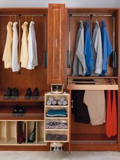"""Rev-A-Shelf CAS-081636-1   Rev-A-Shelf pivoting closet storage armoire is designed for use alone or in conjunction with the mens or womens Armoires. This product fits into an 8"""" opening between two 16"""" depth closet panels, simply add a panel front and you have the must have in closet organization. Its innovative pivoting action allows you to access either the 30"""" mirror or the various storage compartments with a flick of the wrist. Mounted on heavy-duty slides, it pivots, stopping at every…"""