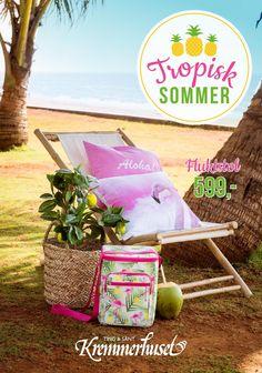Tropisk Sommer hos Kremmerhuset  Ta en titt i vårt sommermagasin, og bli inspirert av sesongens friske nyheter!