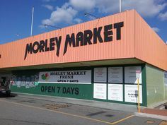 Morley Market in Perth Western Australia is a small shopping center next to the Morley Galleria. It has a very cheap fish and poultry shop, an IGA supermarket, Asian supermarket. Indian supermarket. Hairdresser, Fruit and Vegetable shop, King Kong discount store and many other small unique shops not found anywhere else in Perth. Please watch the video for a tour of the shopping center.