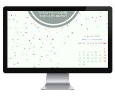 tapeta motywacyjna na styczeń 2017