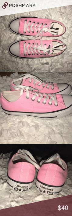 🆕Women's pink converse al star sneakers sz 7 Brand 🆕 women's pink Converse All Star sneakers. Women's sz 7. Brand new, never worn. Without original box. Fast shipping! 😀 Converse Shoes Sneakers