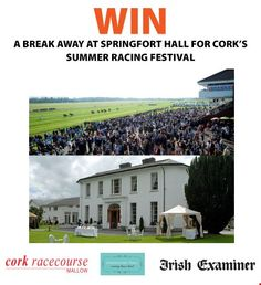 Win a Break Away at Springfort Hall for Cork's Summer Racing Festival - http://www.competitions.ie/competition/win-break-away-springfort-hall-corks-summer-racing-festival/