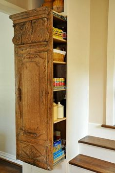 A perfect use for old wood and how beautiful your kitchen will look.