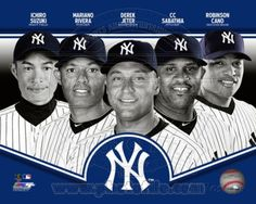 New+York+Yankees+Players | New York Yankees 2013 Team Composite Photo